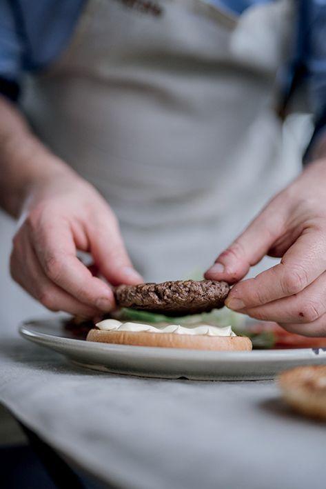 American Big Burger al Sesamo