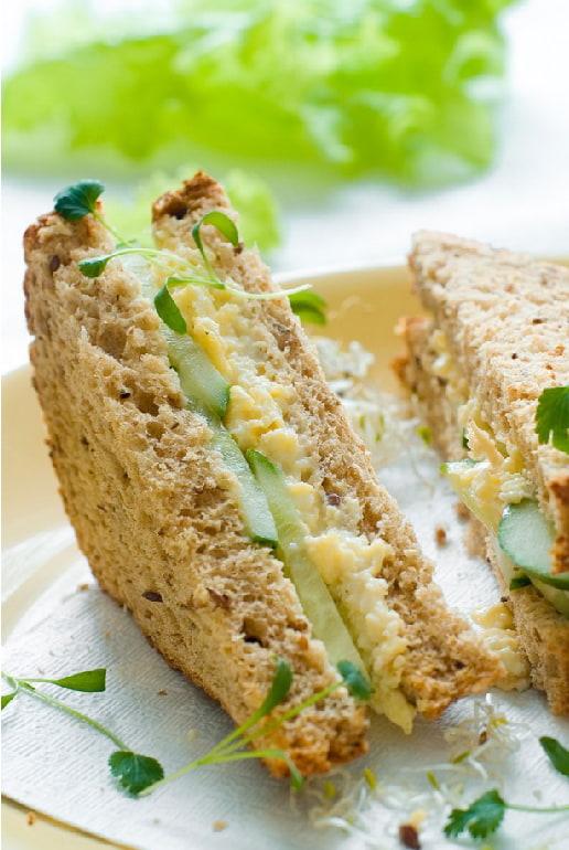 American Sandwich integrale vegetariano