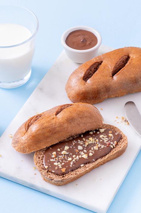 Nuvolatte Latte e Cacao con farina integrale